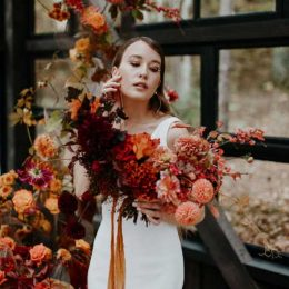 Autumn wedding photoshoot ideas